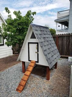 A Frame Chicken Coop, Chicken Fence, Small Chicken Coops, Best Chicken Coop, Chicken Coop Plans, Chicken Roost, Chicken Coup, Poultry House, Backyard Poultry