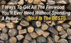 By sourcing free firewood, we are able to heat our home for practically zero cost. Find out how to can get free firewood & save a fortune on heating costs! Survival Food, Camping Survival, Survival Guide, Survival Skills, Survival Hacks, Winter Survival, Survival Stuff, Urban Survival, Home Security Tips