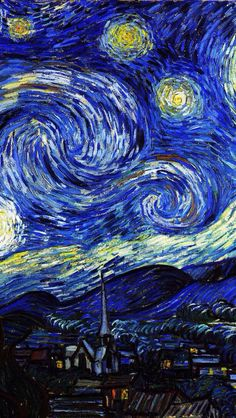 Starry Night Wallpaper...By Artist Unknown...