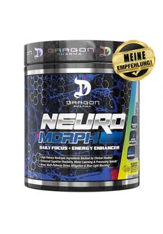 Dragon Pharma NeuroMorph (Focus & Energy) Energy Drinks, Sports Nutrition, Container, Dragon, New Technology, Dragons, Sports Food