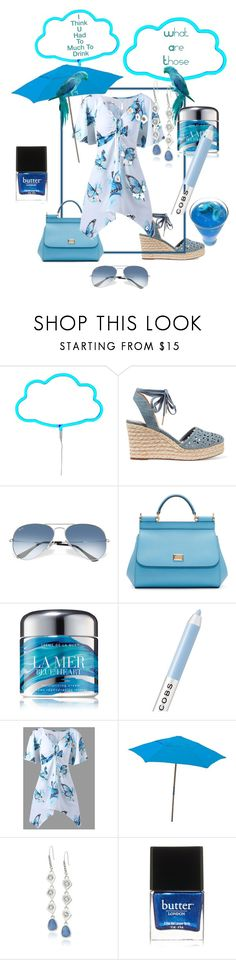 """""""Bird Flys or Fly Birds 🐦🤔"""" by klm62 ❤ liked on Polyvore featuring A Little Lovely Company, MICHAEL Michael Kors, Ray-Ban, Dolce&Gabbana, La Mer, Marc Jacobs, FiberBuilt Umbrellas, Kenneth Cole and Butter London"""