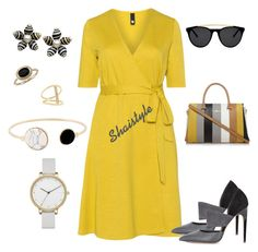 """""""Shaistyle"""" by shaistyle ❤ liked on Polyvore featuring Manon Baptiste, Calvin Klein, Skagen, Sydney Evan, Blue Nile and Smoke x Mirrors"""