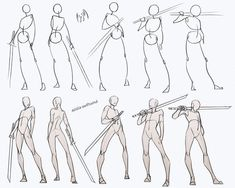 comic art Swordsman Poses Pack - my Patreon for ALL sketches and resources! Drawing reference resource practice human body anatomy tutorial male androgyne sword swordsman poses standing how to draw Human Figure Drawing, Figure Drawing Reference, Art Reference Poses, Anatomy Reference, Sword Reference, Human Body Drawing, Design Reference, Human Body Art, Body Base Drawing