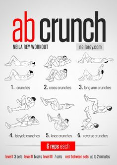 crunches-for-upper-abdominals