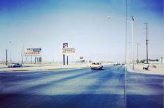 Arriving in Vegas in 1964 photo: Wernher Krutein #oldschool #lasvegas #1964 #timeless