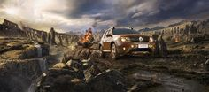 "Renault Duster ""The Battle""  image Campaign"