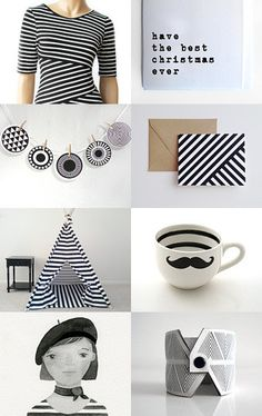 Stripy Christmas - Click and click again on the picture for more related items, prices and details #alfamarama #etsy #etsytreasury #handmade #craft #designtrends #gifts #presents #christmas #xmas #christmaspresents #christmasgits #coolpresents #coolgifts #stripy #blackandwhite #black&white #alternativechristmas #uniquechristmascards