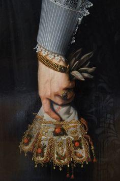 Portrait de femme âgée de 34 ans (Portrait of a Woman Aged 34 Years) by Nicolaes…