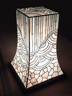 atelier SUETOMO ランプ04 末友 章子のステンドグラス