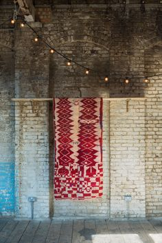 vintage moroccan bjaad / large runner by www.bluegigi.com interior runner red rug maroc tapis london styling decor
