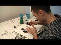 Francis Vallejo - Ink Techniques