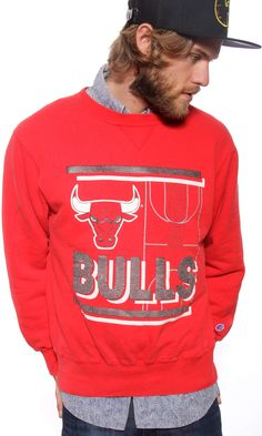 Vintage Champion Chicago Bulls Sweatshirt