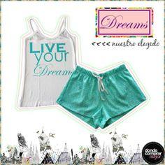 ¿Qué te parece nuestro conjunto favorito de Dreams by Veneno?  ¡Más modelos en su fan page!
