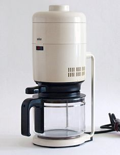 Braun KF20 Aromaster designed by Florian Seiffert in 1972