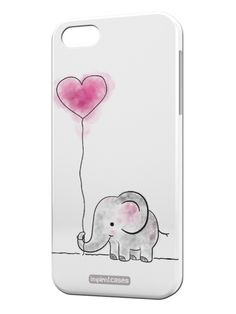 Adorable Elephant Case for iPhone 5 & 5s