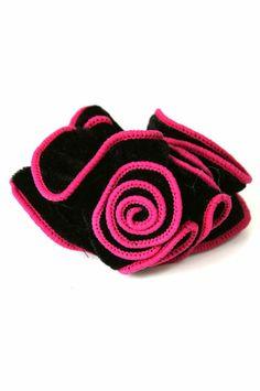 Hair Scrunchy 1 - Hot Pink