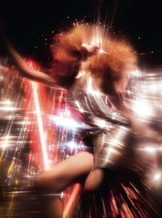 Hollie May Saker - Dazed & Confused - Metallic Blues
