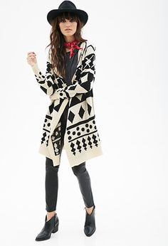 Of course I'm in love with the monochrome color scheme and bold geometric patterns. What a great look!