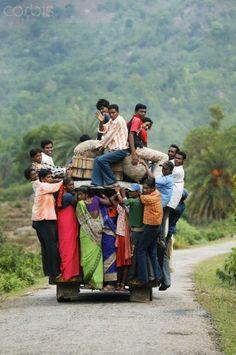 Overloaded Jeep - India. Hay un hueco para mi. A la India tengo que ir.