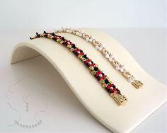 Instant download Keira Bracelet Beaded Bead by SamohtaC