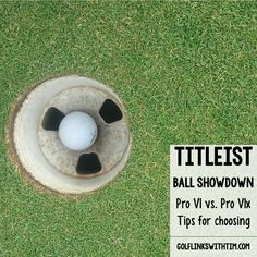 Titleist ball showdown. The Pro V1 vs. Pro V1x and tips for choosing the best ball for your game from Golf Links with Tim #AceGolfEquipment
