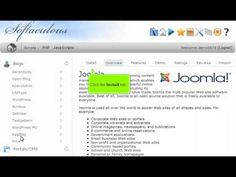 View the following tutorial on how to install Joomla  in 1 minute with 1 click!! Joomla web hosting with http://giganetwebhosting.com Fast and Easy.
