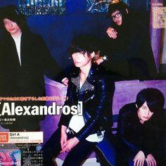 [Alexandros]2015/11/25「ザ・テレビジョン」2015年11月25日発売号