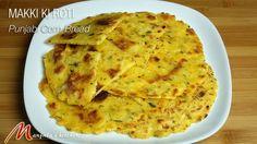 Makki Ki Roti is a popular Punjabi bread made with corn flour and served with Sarson Ka Saag. Maki ki roti is also a Gluten Free flat bread.