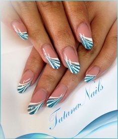 Make an original manicure for Valentine's Day - My Nails French Nail Designs, Colorful Nail Designs, Nail Designs Spring, Cool Nail Designs, Hair And Nails, My Nails, Nails Kylie Jenner, Nagellack Design, Fabulous Nails