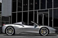 Ferrari 458 Spider gets an elegant makeover by Kahn