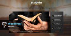 Evangelist – Church WordPress Theme, it is a Church WordPress theme built with a church, charity or prayer group website in mind.