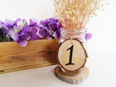 Table Numbers Rustic Table  Numbers Table by DivineRusticCreation, $3.85 ..... I really like the table numbers!!