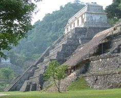 The Mayan ruin city of Palenque in Mexico was there long before it became a tourist attraction. Can be recommended.  Josh & I got to see this on our cruise.  Took a 3 hour drive through Progresso, Mexico to get there.