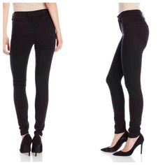 David Bitton High Rise Black Washed Skinny Jeans These are PERFECT for the skinny lady or teen who can never find skinny jeans that fit tight enough. I Love! these jeans. They ARE a flattering fit. Awesome quality, detailing, cool shiny hardware! Little stretch. These run extremely small. I'm normally a size 24 but I was surprised, these barley come up past my bum (super sad about it.) If you have any questions, please ask :) $69 + tax 97% Cotton/3% Spandex Color: Rinsed Black Machine Wash…
