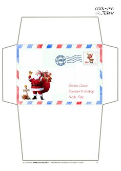 www.click-me.today images entertainment holidays christmas letter-santa envelope letter-santa-envelope-17.jpg