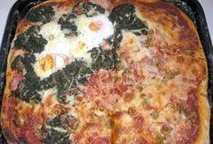Pizza těsto z pizzerie - Recepty.cz - On-line kuchařka Pizza, Dumplings, Quiche, Foodies, Food And Drink, Favorite Recipes, Bread, Cooking, Breakfast