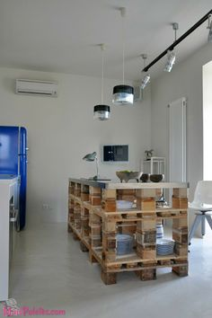Pallets na Cozinha