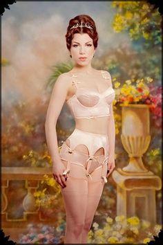 Gorgeous vintage lingerie