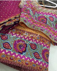 Block print Pakistani Mehndi, Pakistani Outfits, Asifa And Nabeel, Mehndi Brides, Shalwar Kameez, Block Prints, Screen Shot, Eid, Designer Dresses
