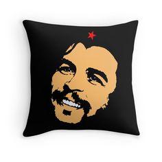 """CHE GUEVARA-2"" Throw Pillows by IMPACTEES   Redbubble"
