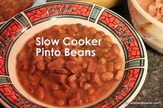 The Best Slow Cooker Pinto Beans Recipe