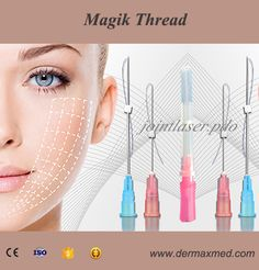 maintenance effect of Magik thread facelifting will last to 3 years. Botox Fillers, Lip Fillers, Facial Aesthetics, Medical Aesthetics, Thread Lift, Facial Anatomy, Aesthetic Dermatology, Aesthetic Clinic, Eye Lift
