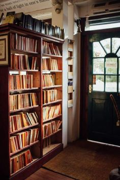 """bookmania: """"The Bookshop, in Wigtown, Scotland   I want to be able to feel those books with my wandering hands. """""""