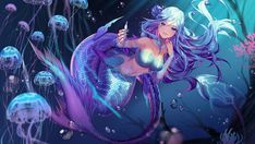 Mermay 2021 Art Feature! by Acaciathorn on DeviantArt Hyanna Natsu, Mermaid Artwork, Always Love You, Welcome, The Incredibles, Student, Deviantart, Digital, Gallery