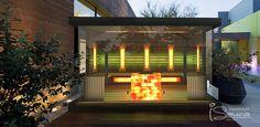 Luxus finnische Sauna Haus und Infrarotkabine mit Salzwand Zürich