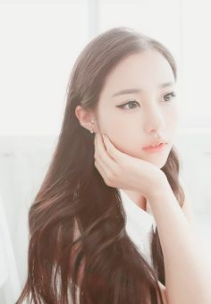 Gorgeous Ulzzang hair and makeup