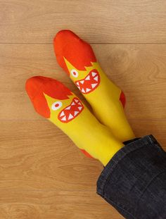 Express yourself, from the bottom up, literally!  ChattyFeet funky socks are about a secret rebellion against boringness.