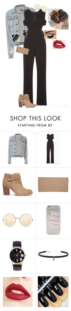 """Untitled #318"" by hannah-faith1 ❤ liked on Polyvore featuring rag & bone, BCBGMAXAZRIA, Sole Society, DKNY, Victoria Beckham, Carbon & Hyde and Jouer"