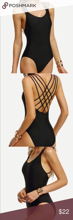 Super cute one piece bathing suit Never worn. Has padding. Swim One Pieces