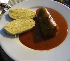 Plnená paprika • recept • bonvivani.sk Main Meals, Beef, Food, Meat, Meal, Eten, Meals, Ox, Ground Beef